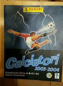 album-calciatori-panini-anno-2003-2004-incompleto