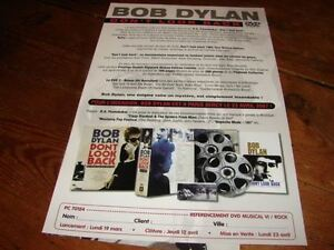 Bob-Dylan-Don-039-T-Look-Back-Raro-French-Promocion-Press-Kit