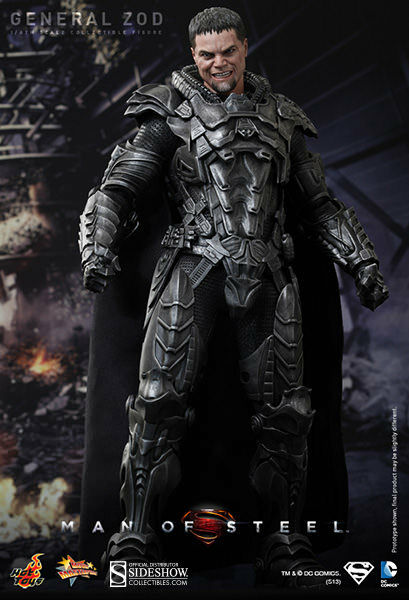 HOTTOYS FROM THE MOVIE MAN OF OF OF STEEL GENERAL ZOD 12INCH FIGURE 2b1071