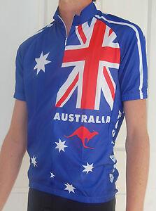 Image is loading AUSTRALIA-Flag-Cycling-Bike-Jersey-Mens-womans-sizes- c6d355c8b