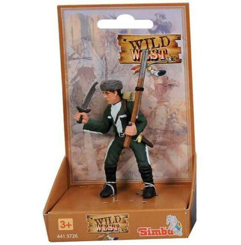 02 NEUF Simba 104413726-Wild West-Wild West Cowboy Personnage