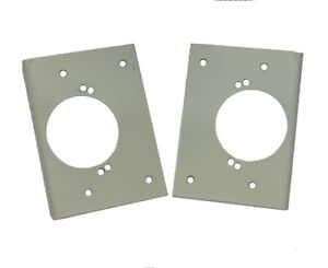 Details About Kitchen Cabinet Wardrobe Door Repair Bracket Plate With Or Without Cup Hole X2