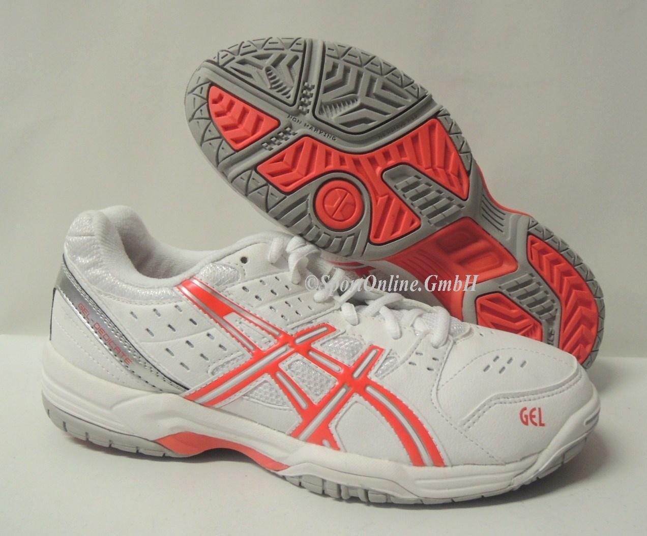 NEU Asics Gel Dedicate 3 3 3 damen Gr. 39,5 Tennisschuhe Tennis Schuhe E358Y-0121    Vielfältiges neues Design    Gute Qualität    Erlesene Materialien  968464