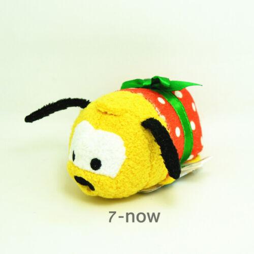 "New Tsum Tsum Yellow 3 1//2/"" mini Pluto Christmas Soft Stuffed plush Toy Doll"
