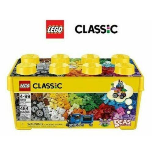 Sale LEGO Classic 1 Series Medium Toy Pack Creative Brick Box 484pcs 10696