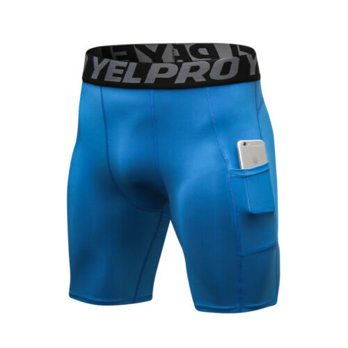 Mens Compression Shorts Workout Running Spandex Base Layer Sport Pants Quick Dry