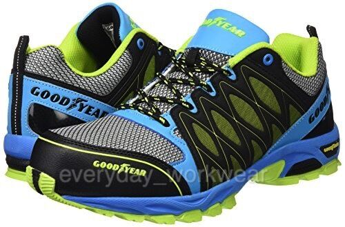 Goodyear Safety Trainers Composite Toe S1 Lightweight Metal Free Lace Mens 1503