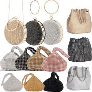 Women-039-s-Evening-Clutch-Bag-Party-Prom-Wedding-Party-Purse-Banquet-Handbag-Gift