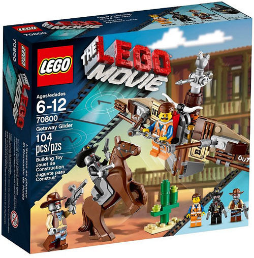 THE THE THE LEGO Movie 70800  Getaway Glider Set New In Box Sealed 124920