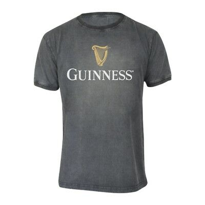 Activewear Earnest Guinness Distressed Trademark Label Tee Mens Cotton Irish Ireland Shirt New Aromatic Character And Agreeable Taste Men's Clothing