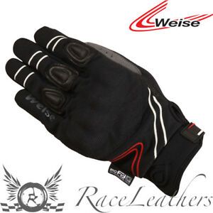 WEISE-Wave-Impermeable-Transpirable-Cuero-Textil-Guantes-Para-Motociclista