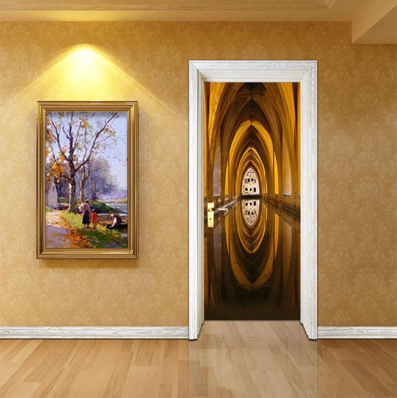 3D Bogen 87 Tür Wandmalerei Wandaufkleber Aufkleber AJ WALLPAPER DE Kyra