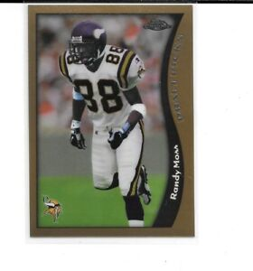 1998 Topps Chrome Randy Moss Rc Rookie Card Vikings Ebay