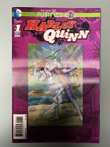 DC-Comics-The-New-52-Harley-Quinn-1-Futures-End-The-Joker-3D-Mint-Condition