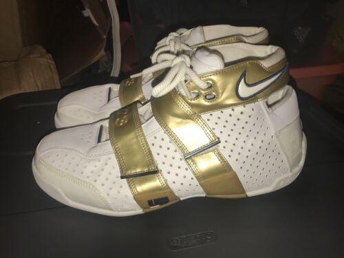11 White 4 Gold Horsemen 5 Nike 20 Shoes Promo o Sample Rare Tama Lebron xOZqx8