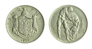 pcc1712-31-Albania-King-ZOG-I-1-2-LEK-1930-V