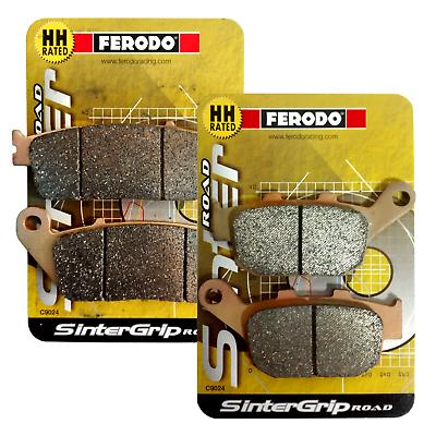 Honda CBR 1000RR Fireblade 2014 Full Set Ferodo Sintered Brake Pads
