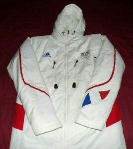 Parka(No Maillot)Adidas Officielle Equipe De France Olympique+Sweat Taille M
