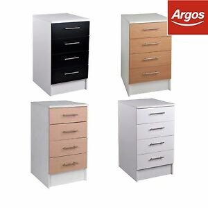 Athina 500mm fitted kitchen drawer unit beech oak white for Fitted kitchen dresser unit