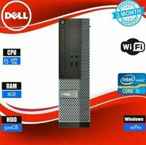 Dell-OPTIPLEX-3020-SFF-i5-4570-500GB-WiFi-8GB-3-60GHZ-Win-10-OFFICE-PC-GRADE-A