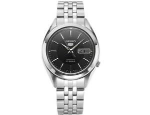 SEIKO-5-SNKL23K1-Automatic-38mm-Black-Dial-Stainless-Steel-Mens-Watch