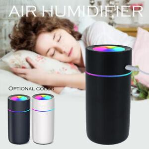 Purificateur d'air humidificateur ultrasonique LED diffuseur d'huile d'arôme LB