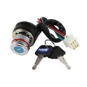 HMParts-Quad-ATV-de-nombreux-types-de-nouveau-Serrure-de-Contact-Set-Top-t9-6-PIN