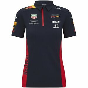 Details about Red Bull Racing F1 2020 Women's Team Polo Navy