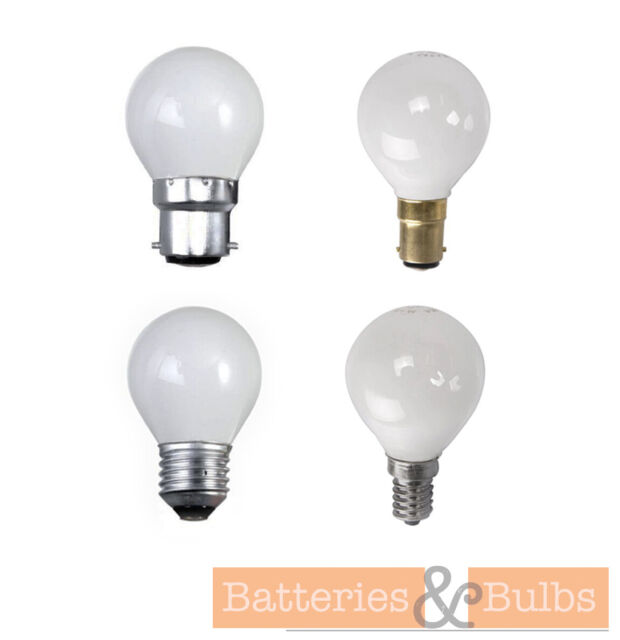 BC SES ES Eveready Candle Halogen Opal // Clear Lamps 25W // 40W // 60W SBC
