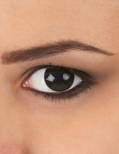 Kontaktlinsen extravagantes schwarzes Auge 1 Jahr Erwachsene Cod.234123