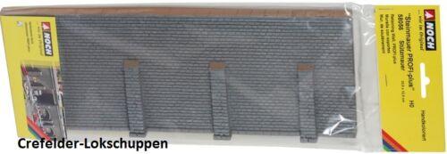 ca.334 x 125mm; NEU/&OVP NOCH 58056 Stützmauer Mauerstein
