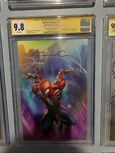 Spider-Geddon-0-2018-CGC-Graded-9-8-Signature-Series-Clayton-Crain-Variant-B