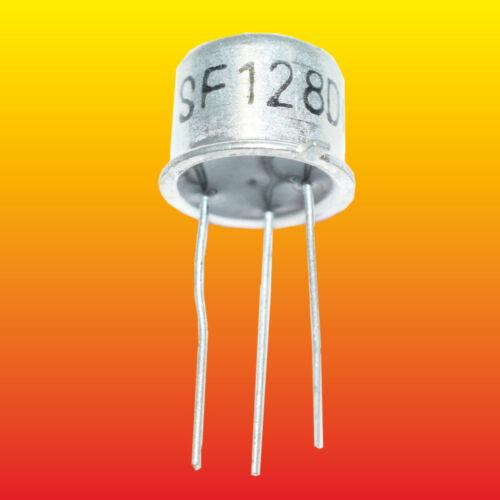 SF128D LOT OF 5 RFT SILICON NPN TRANSISTORS 0.6W 0.5A