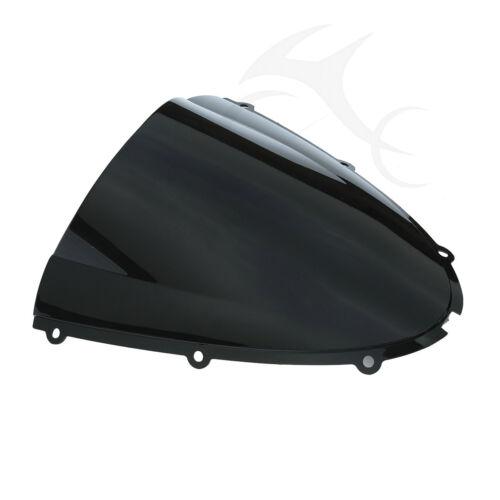 Black Windscreen Windshield Screen Protector For KAWASAKI ZX-10R ZX10R 2006 2007