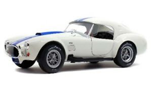 SOLIDO 1804906 AC COBRA 427 MK.II Wimbledon white diecast model car 1965 1:18th
