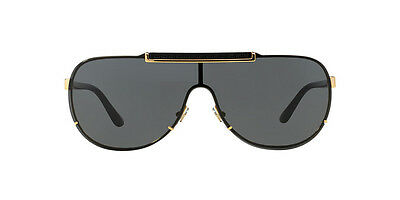 01499fe3df60 Versace Men's VE2140-100287-40 Gold Aviator Sunglasses VE 2140 1002/87 MEN  725125823265 | eBay
