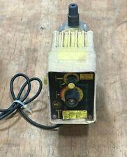Lmi Metering Pump Model Ap51 86pb 115vac 24 Max Gpd Output 110 Psi Max