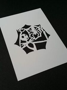 Nightmare Before Christmas Style Jack And Spider Airbrushing Stencil