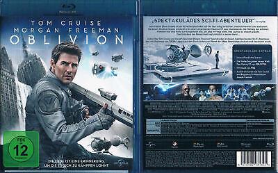 Oblivion Blu Ray Scifi Tom Cruise Morgan Freeman Ebay
