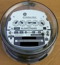 GE- ELECTRIC WATTHOUR METER (KWH) TYPE I70S, I-70S, FM 2S, 240V, 200A, 5 POINTER