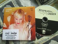Stephanie Dosen – This Joy  Bella BELLACD143P UK Promo CD Single