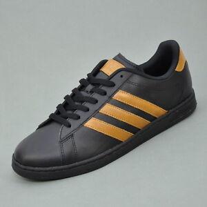 Adidas NEO DERBY II LE Uomo Scarpe Sneaker Nero Marrone Q26244