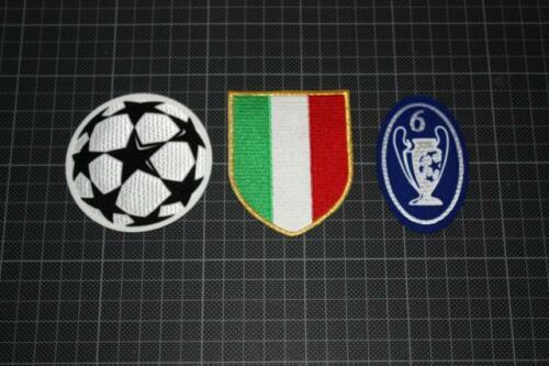 UEFA CHAMPIONS LEAGUE and 6 TIMES CHAMPIONS BADGES 20042005