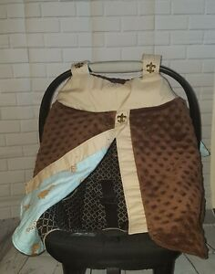 Brand-New Handmade Baby Infant Car Seat Canopy-Cover
