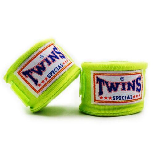 TWINS 2pcs//Pack 5M Boxing Sports Hand Wraps 5cm Width Training Hand Bandages