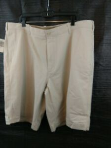 68c2bd46c5e Details about Van Heusen taupe, 4 pocket, Chino shorts. Size 42 waist,10 in  length. New w/tags