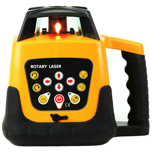 Ridgeyard Auto Electronic Self-Leveling Rotary Rotating Red Laser Level Kit 500M