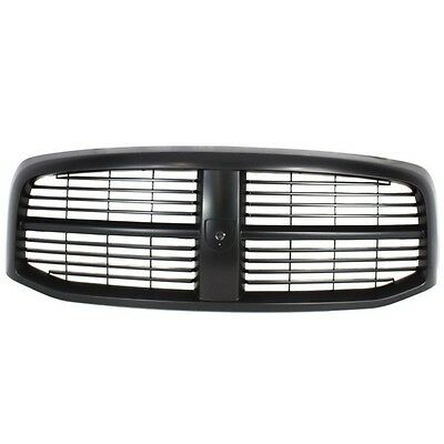 NEW GRILLE ASSEMBLY GRAY SHELL BLACK INSERT DODGE RAM TRUCK CH1200280 5JY121SPAC