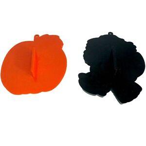 Hallmark-Halloween-Cookie-Cutters-Pumpkin-Witch-Vintage-1980-1981-Plastic