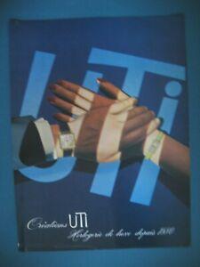 PUBLICITE-DE-PRESSE-UTI-HORLOGERIE-DE-LUXE-CREATIONS-AD-1964